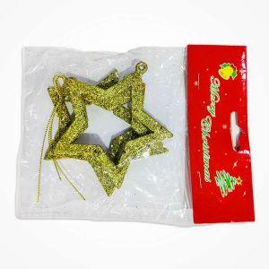 Golden Stars Christmas Tree Decoration Ornaments - Model Y1