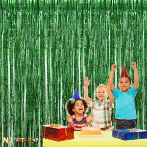 Green Foil Curtain