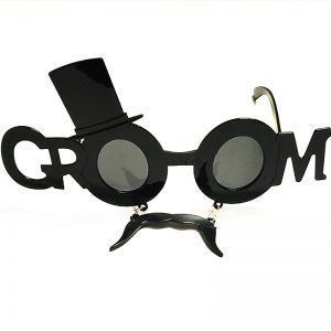 Groom Goggle with Moustache