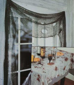 Halloween Curtain Decoration