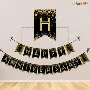 Happy Anniversary Block Banner