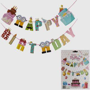 Happy Birthday Banner - Model B1