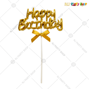 Happy Birthday Cake Topper – Model 200G