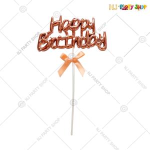 Happy Birthday Cake Topper – Model 200R