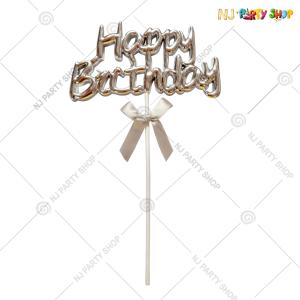 Happy Birthday Cake Topper – Model 200S