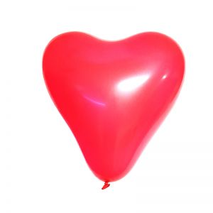 Heart Shape Balloons - Red - Set of 25