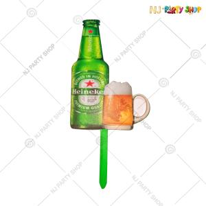 Heineken Beer Cake Topper