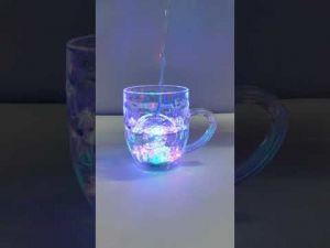 Led Beer Mug Glass