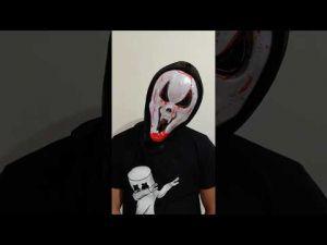 Bleeding Halloween Mask