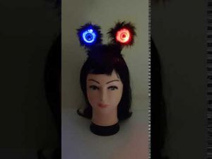 Ghost Eye Hairband With Lights - Halloween Accessories