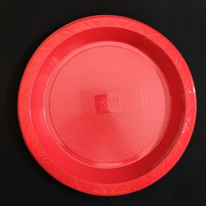 Disposables High Quality Red Plates - Set of 10