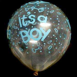 IT's A Boy Balloons - Blue - Set of 25