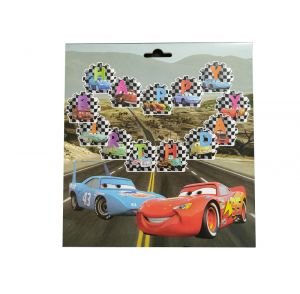 McQueen Car Theme Happy Birthday Banner