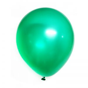 Balloons Metallic - Green - Set of 25