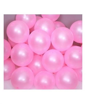 Metallic Balloons Baby Pink- Set of 25 Pcs