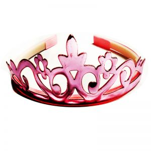 Metallic Crown - Light Pink