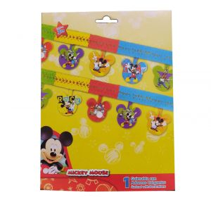 Mickey Mouse Paper Garland Decoration