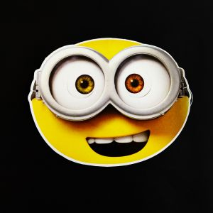 Minion Theme Full Face Paper Mask - Set of 10