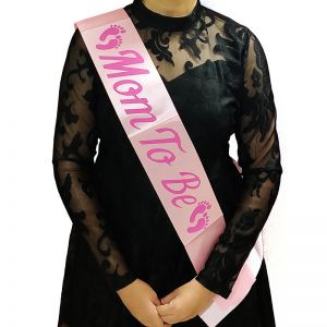 Bride To Be Sash - Baby Pink