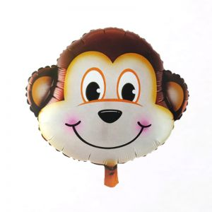 Monkey Animal Foil Balloon