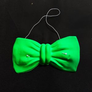 Neon Party Bow Accessories - Green