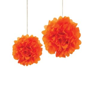 Orange Pom Pom - Set of 1