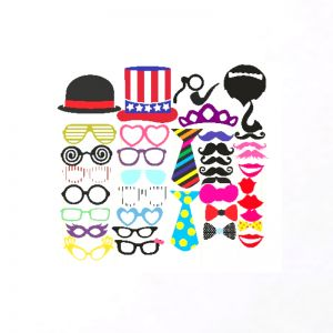 Party Theme Photo Booth Props