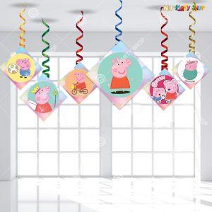 Peppa Pig Swirls - Set Of 12