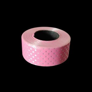 Pink Polka Dot Curling Ribbon