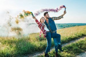 Colorful Smoke Bomb / Smoke Sticks - Set of 5 - Pre Wedding
