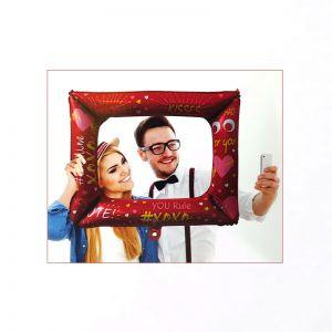 Selfie Frame Foil Balloon