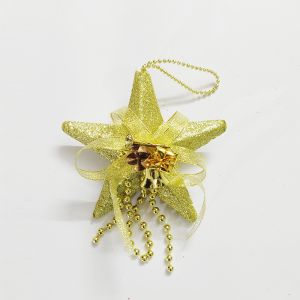 Small Star Hanging - Golden
