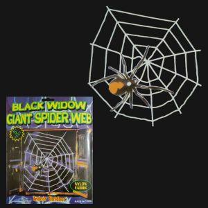 Spider Web Big - Black/White