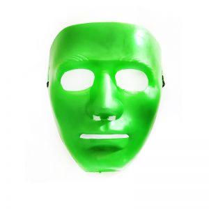Stoneman Plastic Face Mask - Green