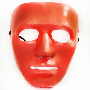 Stoneman Plastic Face Mask - Red