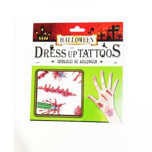Tattoo Scars for Halloween Makeup