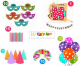 117A Model - Birthday Decoration Combo Kit - 6 in 1