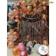 010M - Black & Rose Gold Birthday Decoration Combo Kit - Set of 50