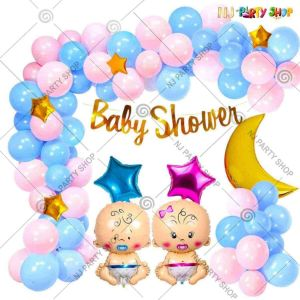02X - Baby Shower Decoration Combo - Set of 59