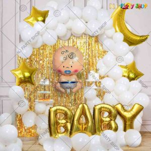 08X - Baby Shower Decoration Combo - Set of 46