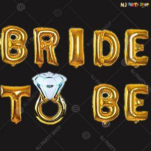 111A - Bride To Be Decoration Combo - Bachelorette Party Decorations
