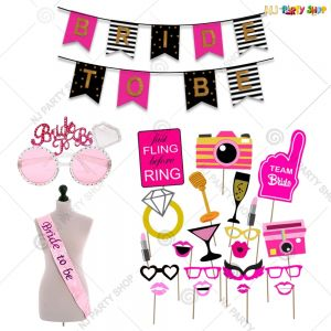 Bride To Be Foil Balloon - Bachelorette Party Decorations