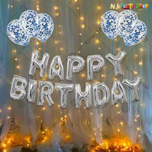 011S - Birthday Party Decoration Combo - Set of