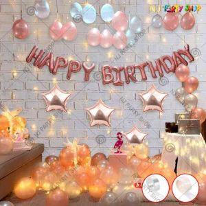012Q - Birthday Party Decoration Combo - Set of
