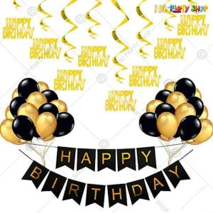014K - Birthday Party Decoration Combo - Set of