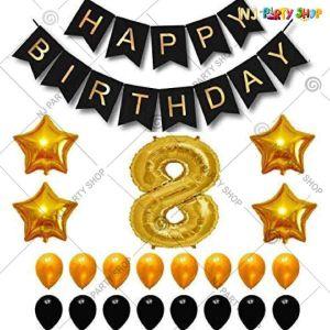 015P - Birthday Party Decoration Combo - Set of