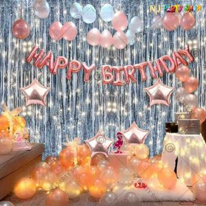 015S - Birthday Party Decoration Combo - Set of