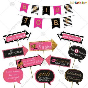 15A - Bride To Be Decoration Combo - Bachelorette Party Decorations