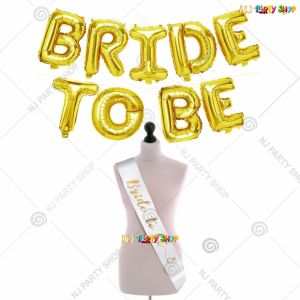 17A - Bride To Be Decoration Combo - Bachelorette Party Decorations
