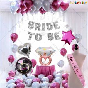 18A - Bride To Be Decoration Combo - Bachelorette Party Decorations